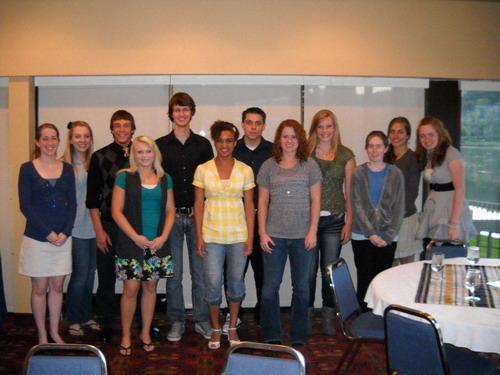 Scholarship Winners 2011