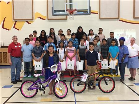 Lewisville Morning Rotary to Award a bike to a boy and a girl from each  grade at Central ES the last week of May