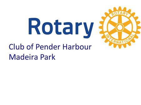 Pender Harbour Madeira Pk