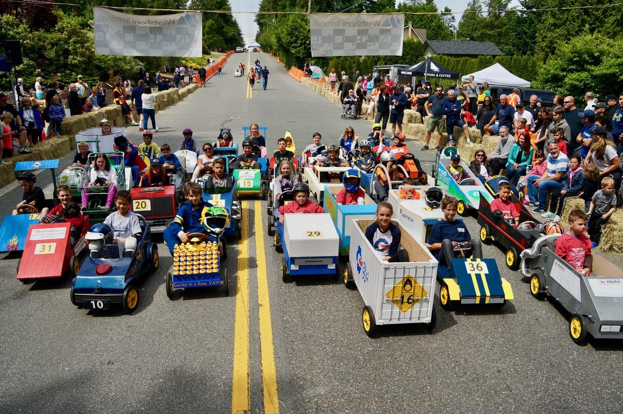 Image result for pictures of soap box derby tsawwassen 2017