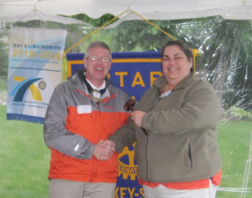 Brower new Rotary Sunrise Pres