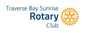 Traverse Bay Sunrise Rotary Club logo