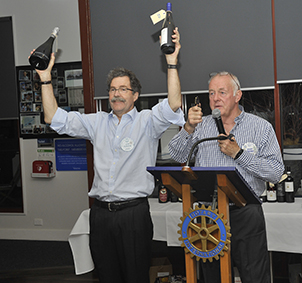 John Richmond and Barry Bedggood offer another lot of wines