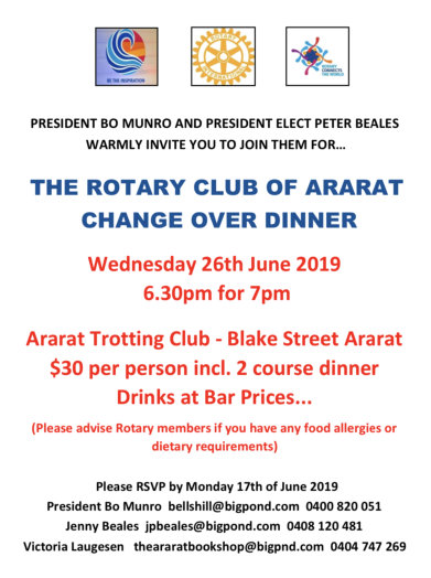 Stories | Rotary Club of Maryborough
