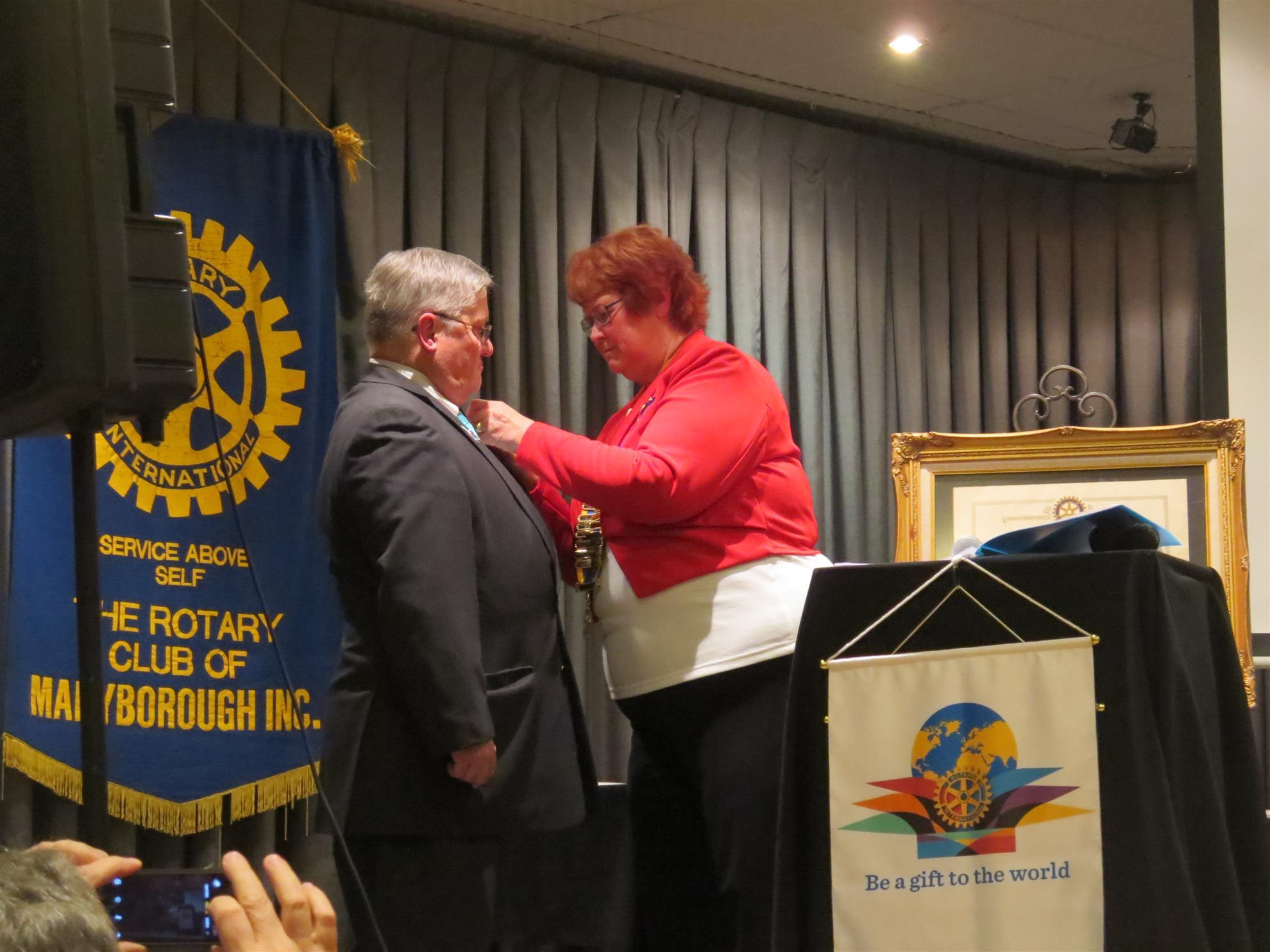 Changeover NIght 2nd July   Rotary Club of Maryborough