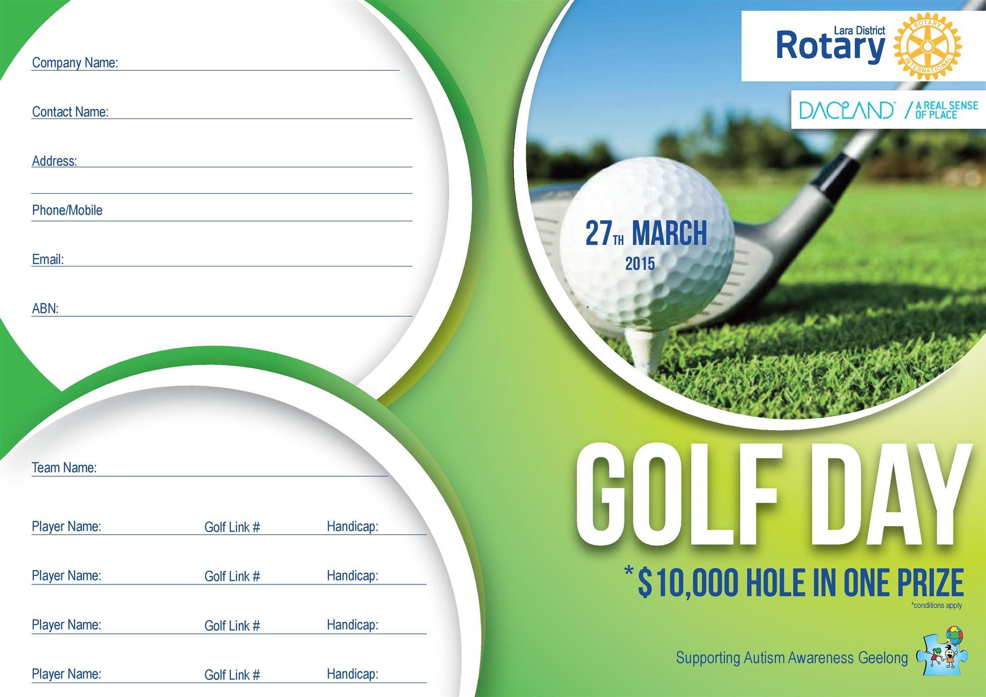 rc of lara golf day invitation rotary club of torquay