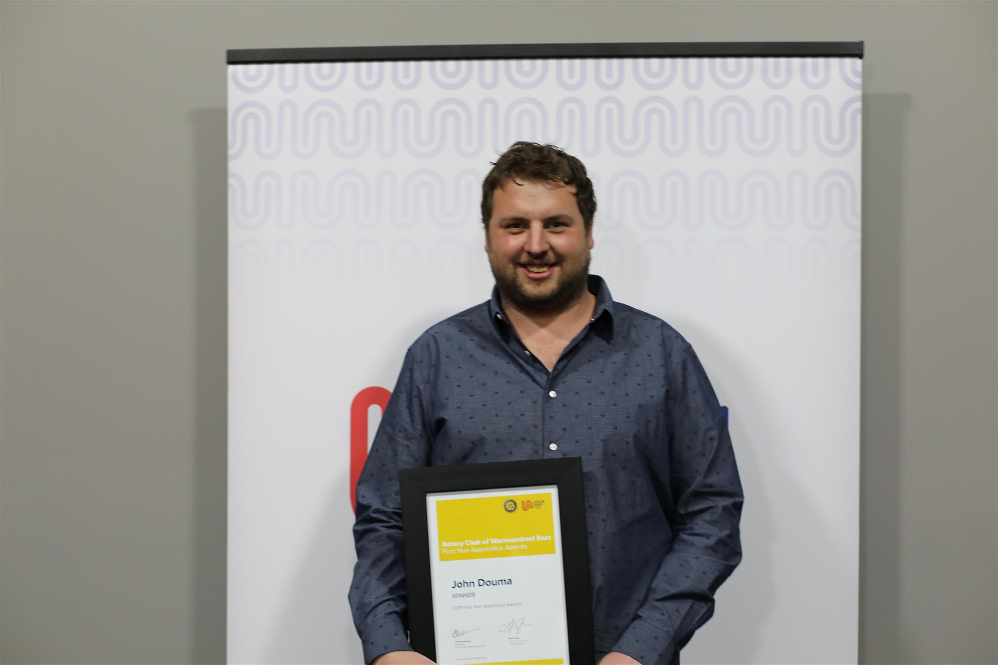 Overall Winner John Douma