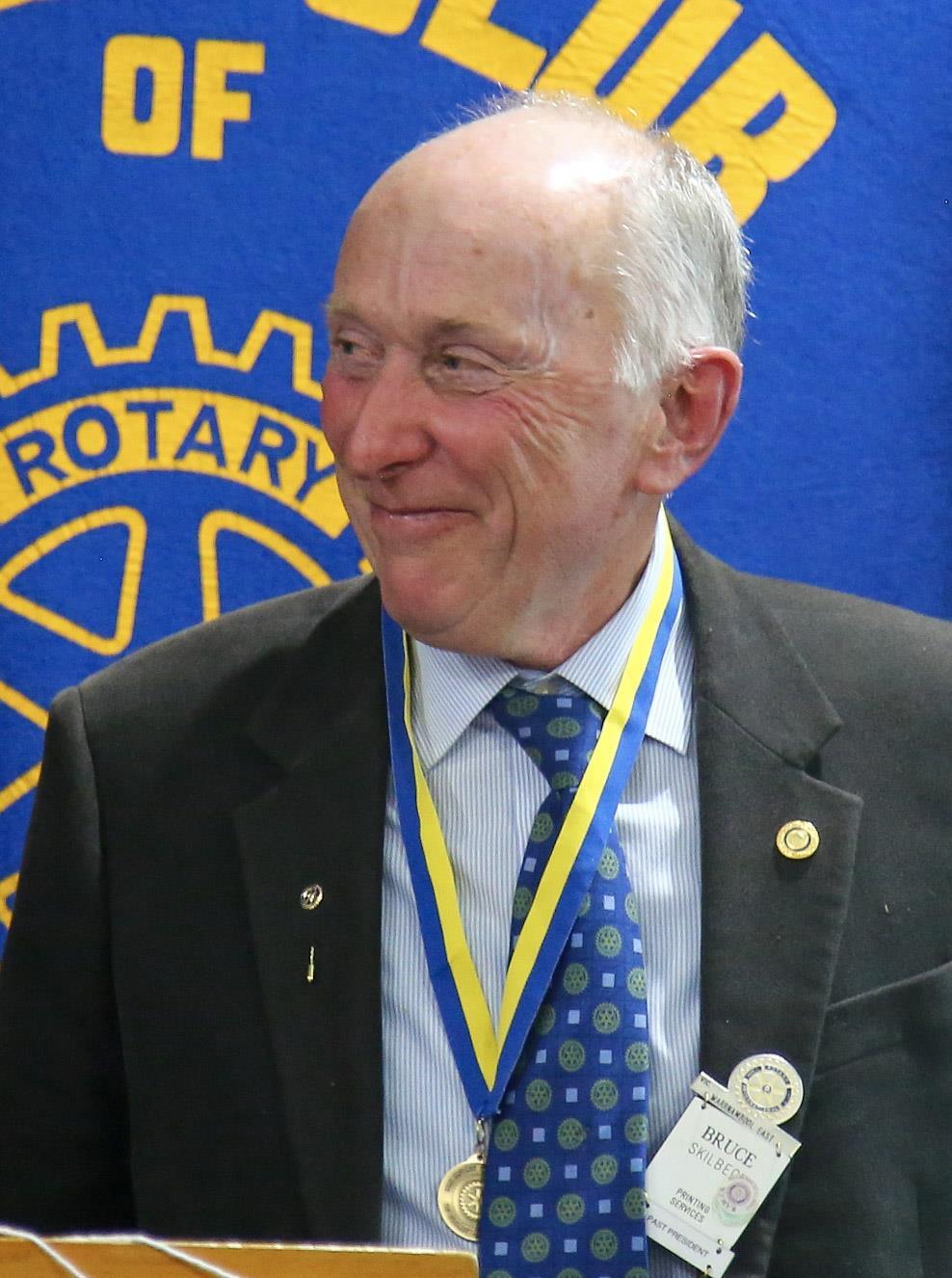 Bruce Skilbeck - Stewart Dumesny Award