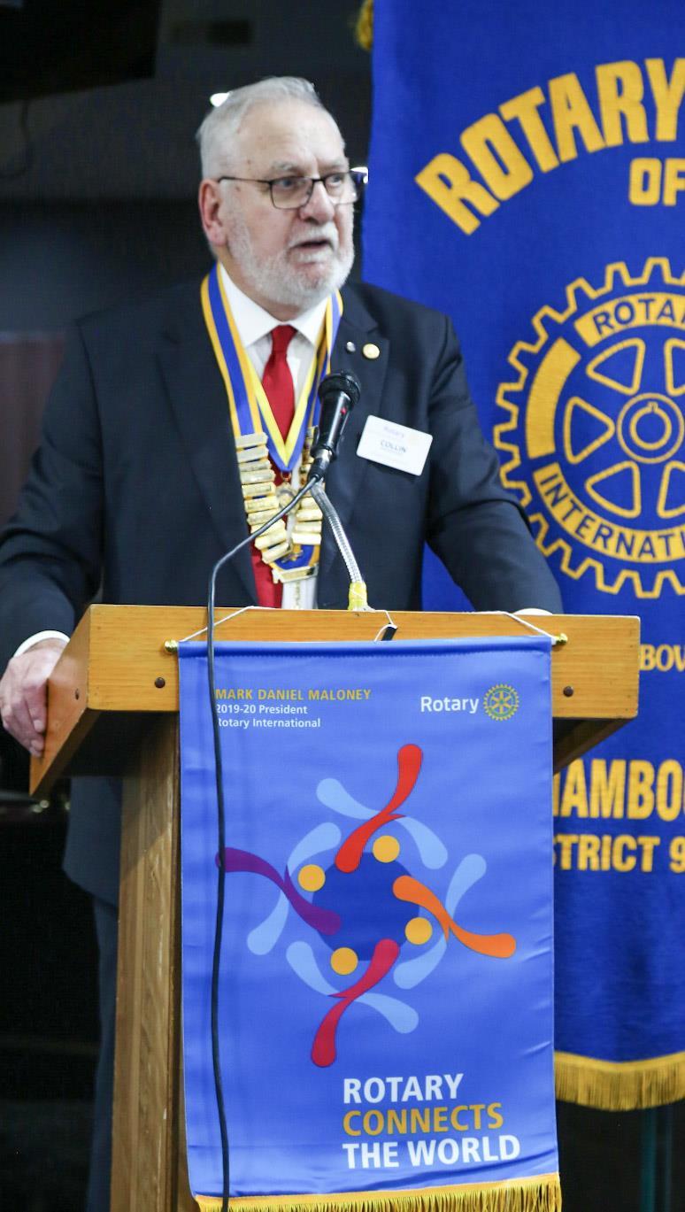 President 2019-20 Collin Brinkmann