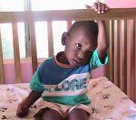 Javaughn at New Hope Orphanage in Jamaica.
