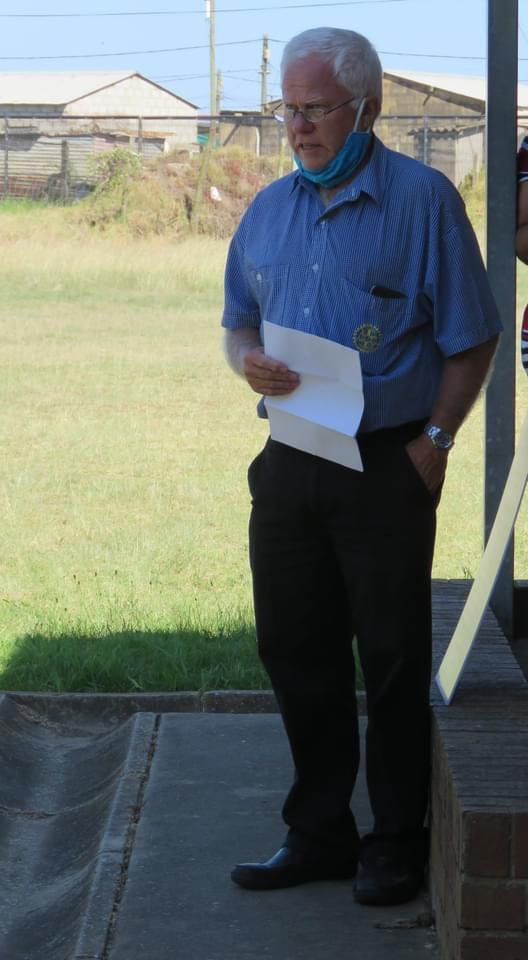 Rotarian Andy Long