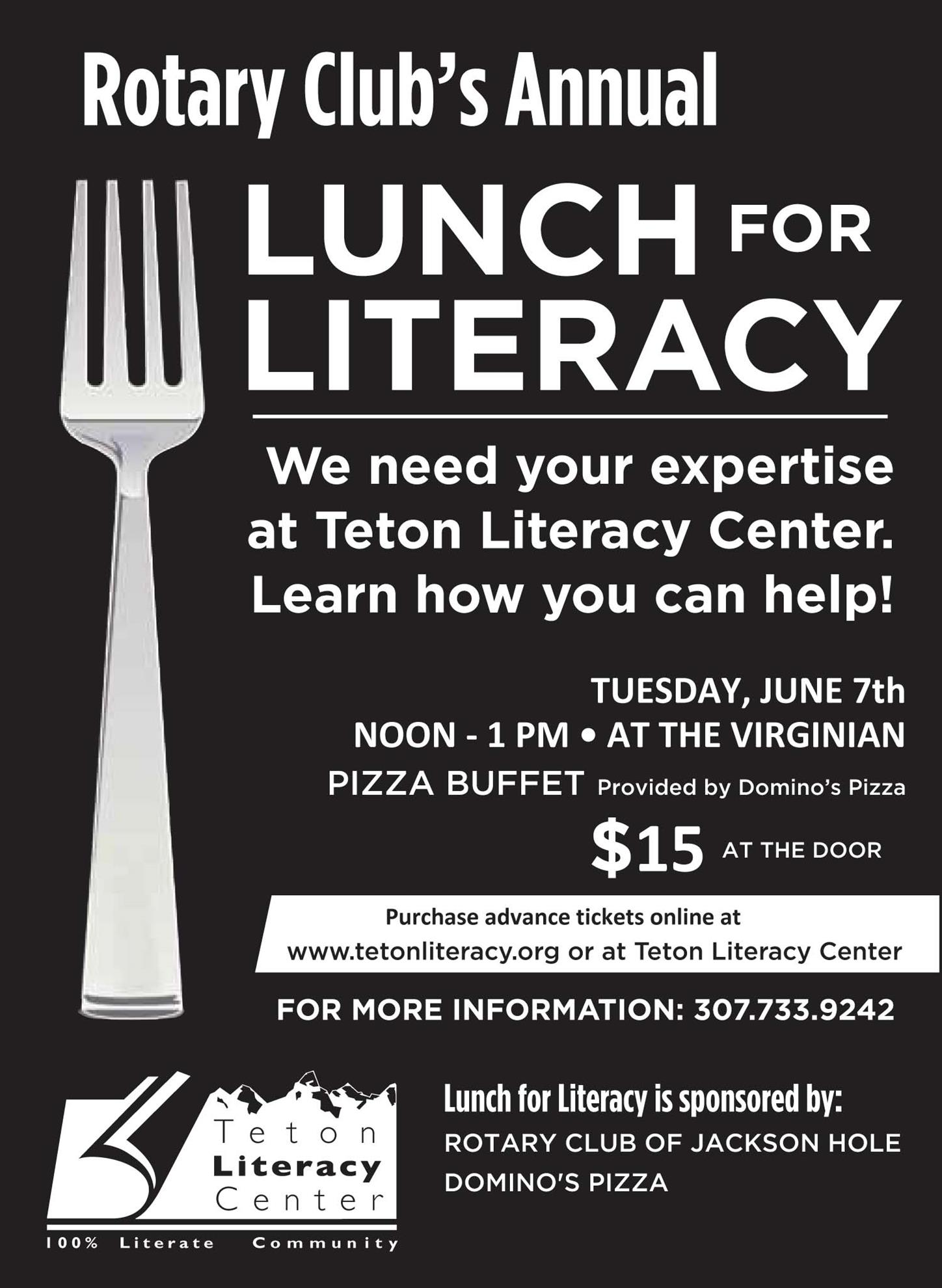 Teton Literacy Flyer