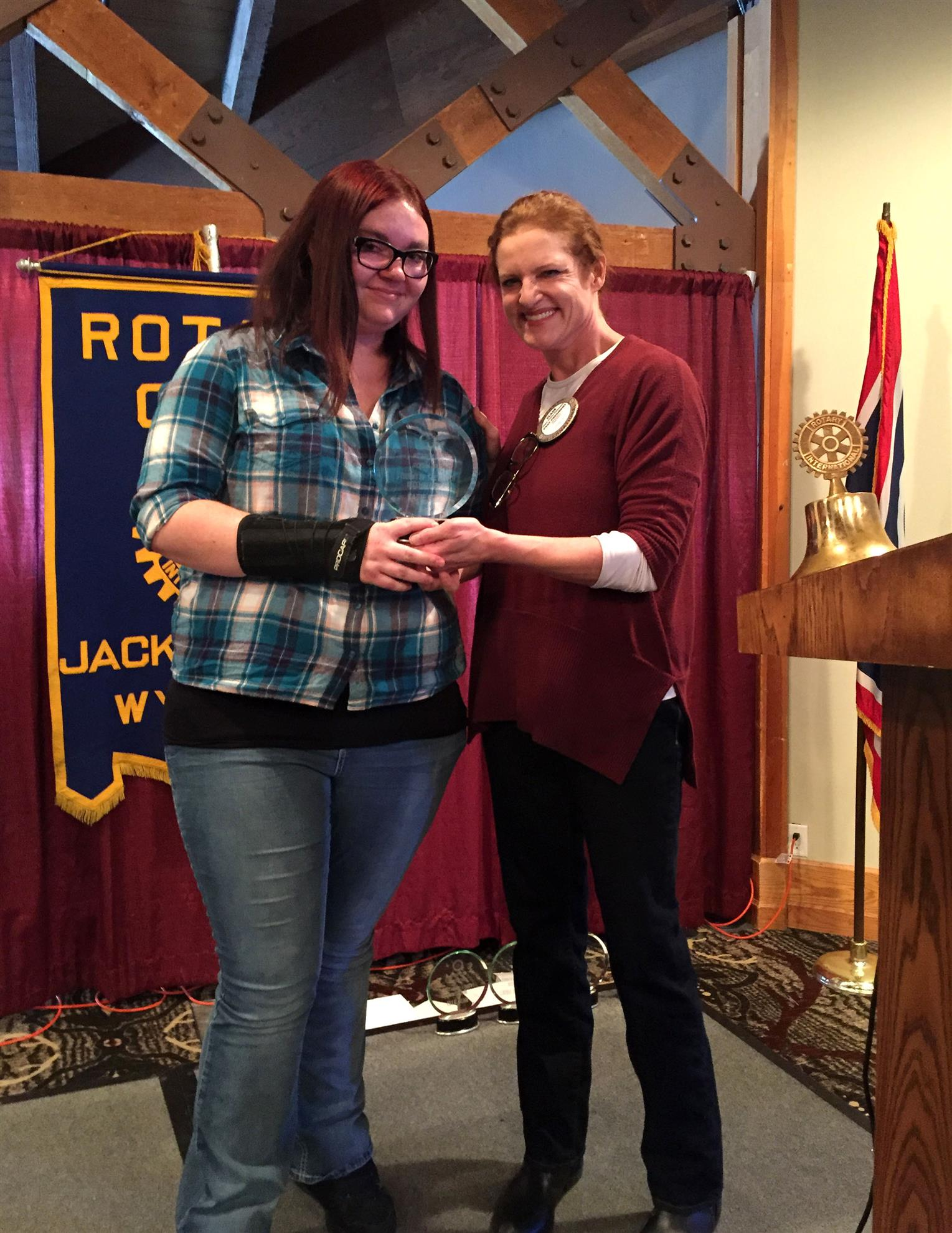 Summit High School Student of the Month; December 2015; Katie Bell