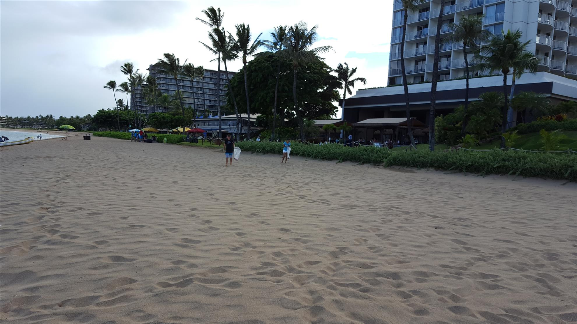 Ka'anapali Beach, at 7AM