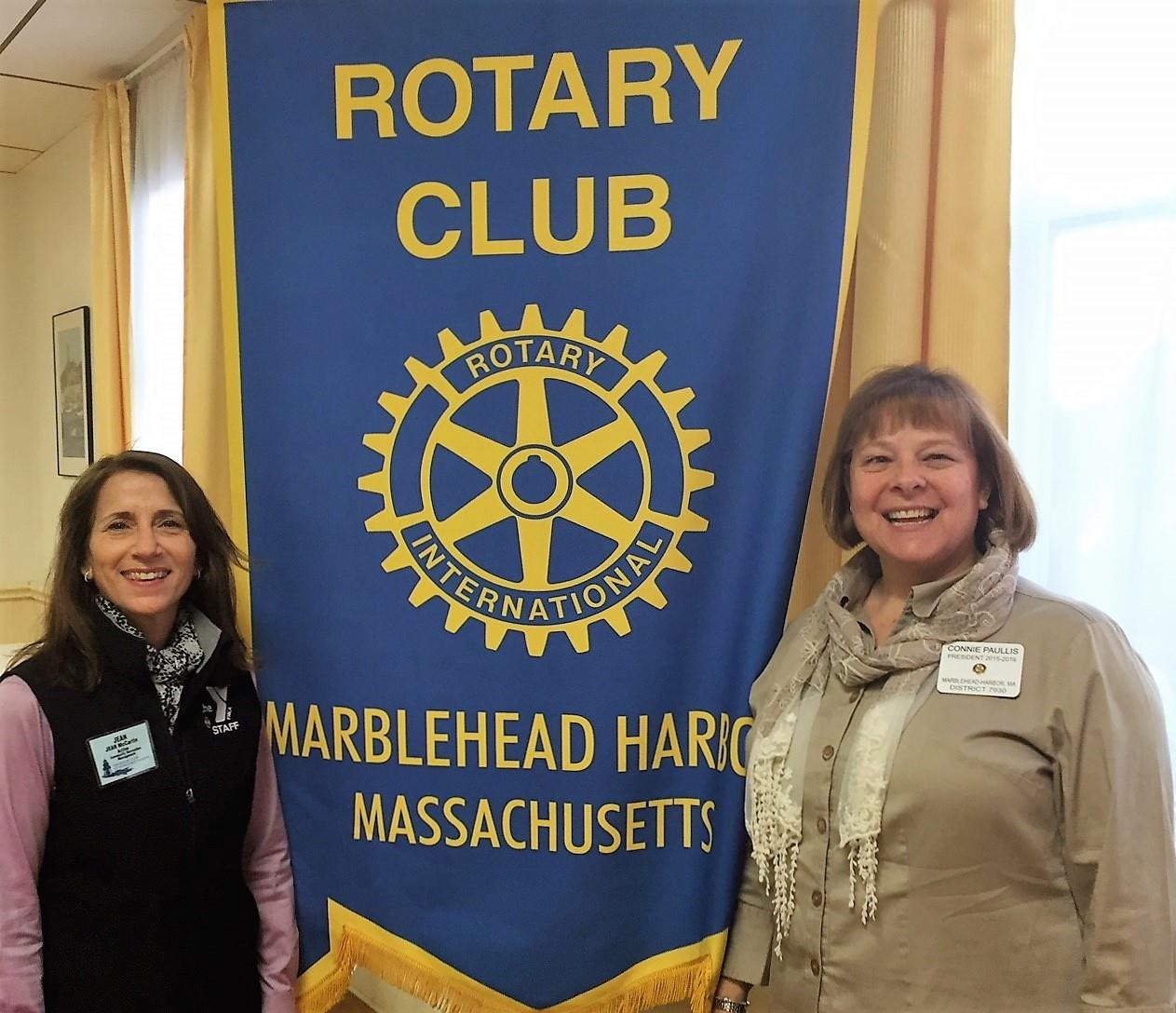 Rotary Club of Marblehead Harbor New Memberr