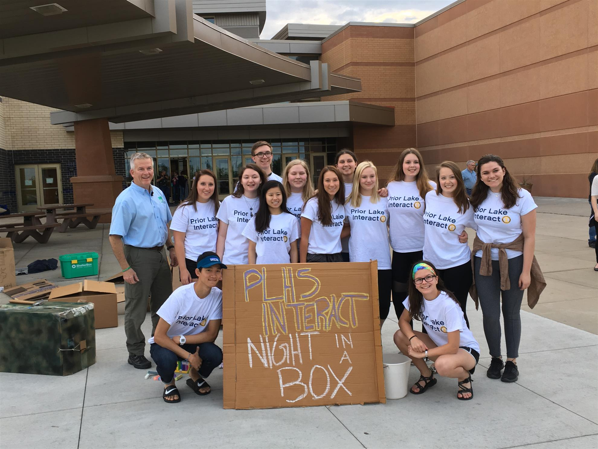 ... They Exceeded Their Goal Of Raising $2,500 By Raising Over $3,700! That  Is Enough To Purchase 3 ShelterBox Boxes That Will Be Sent To Areas  Suffering ...
