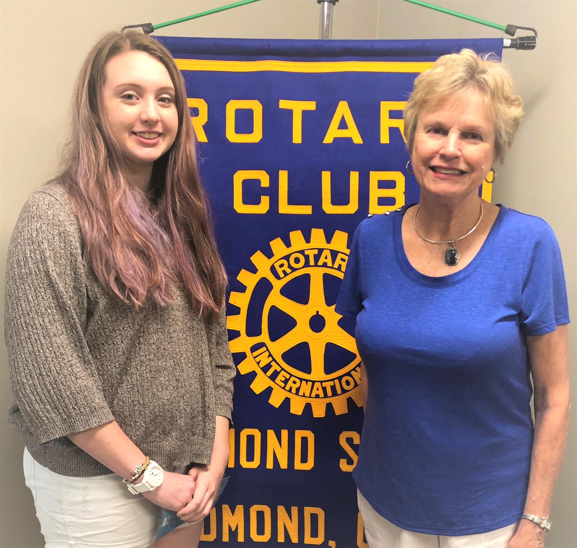 sports shoes fdf53 70147 Celia Relland, pictured at right with RYLA Coordinator Julie Hovis (far  Right) is our third RYLA (Rotary Youth Leadership Award) recipient this  year with a ...