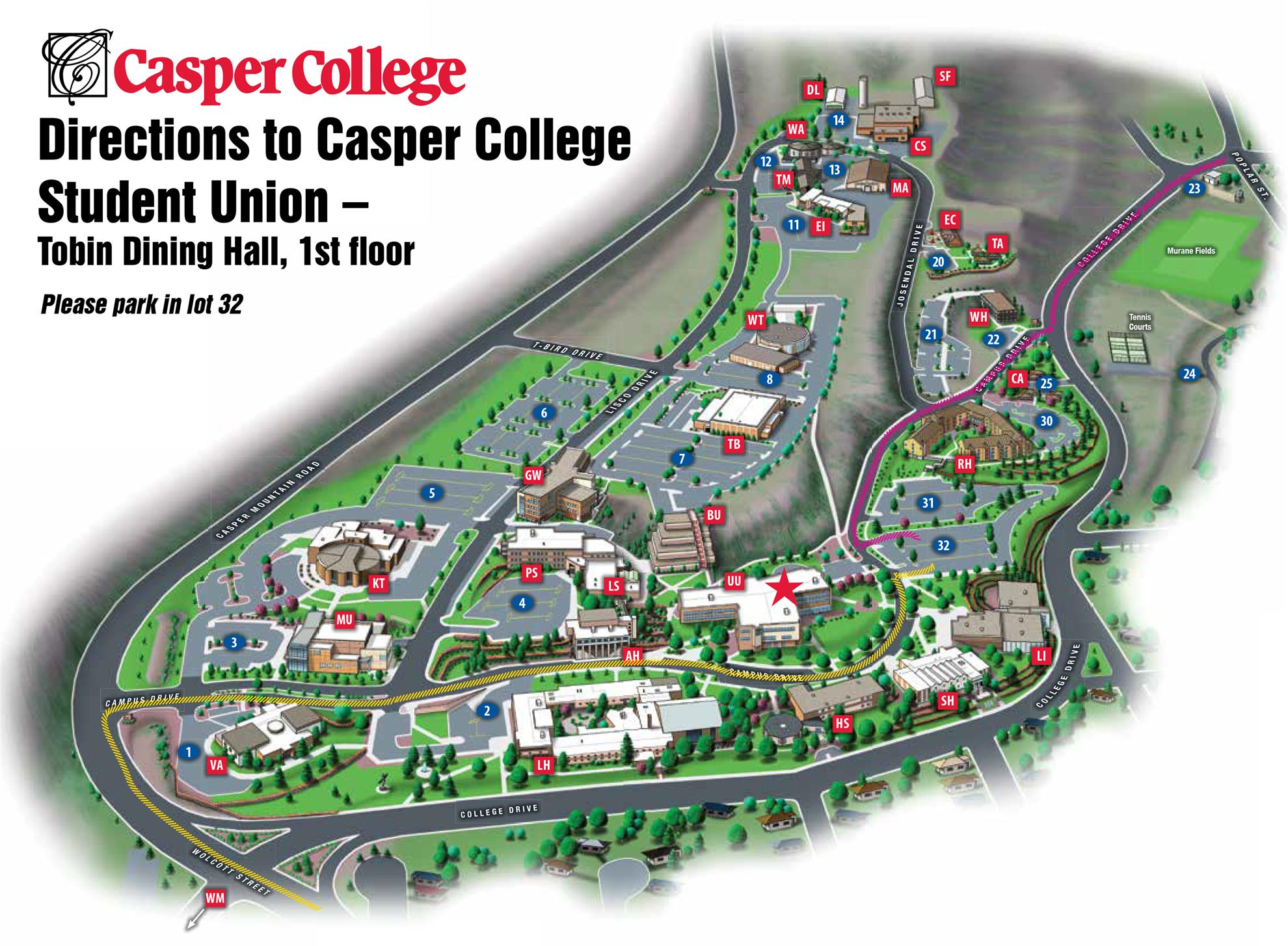 Casper College Map Rotary Rig May 18th, 2015 (May 18, 2015) Casper College Map