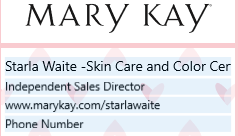 Mary Kay by Starla Waite