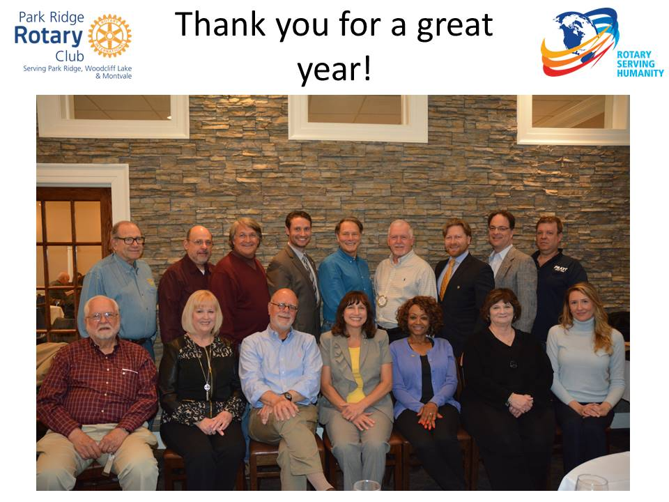 A Rotary Year In Review Rotary Club Of Park Ridge New Jersey