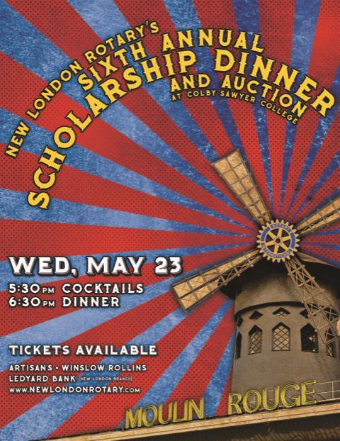 Scholarship Dinner Flyer