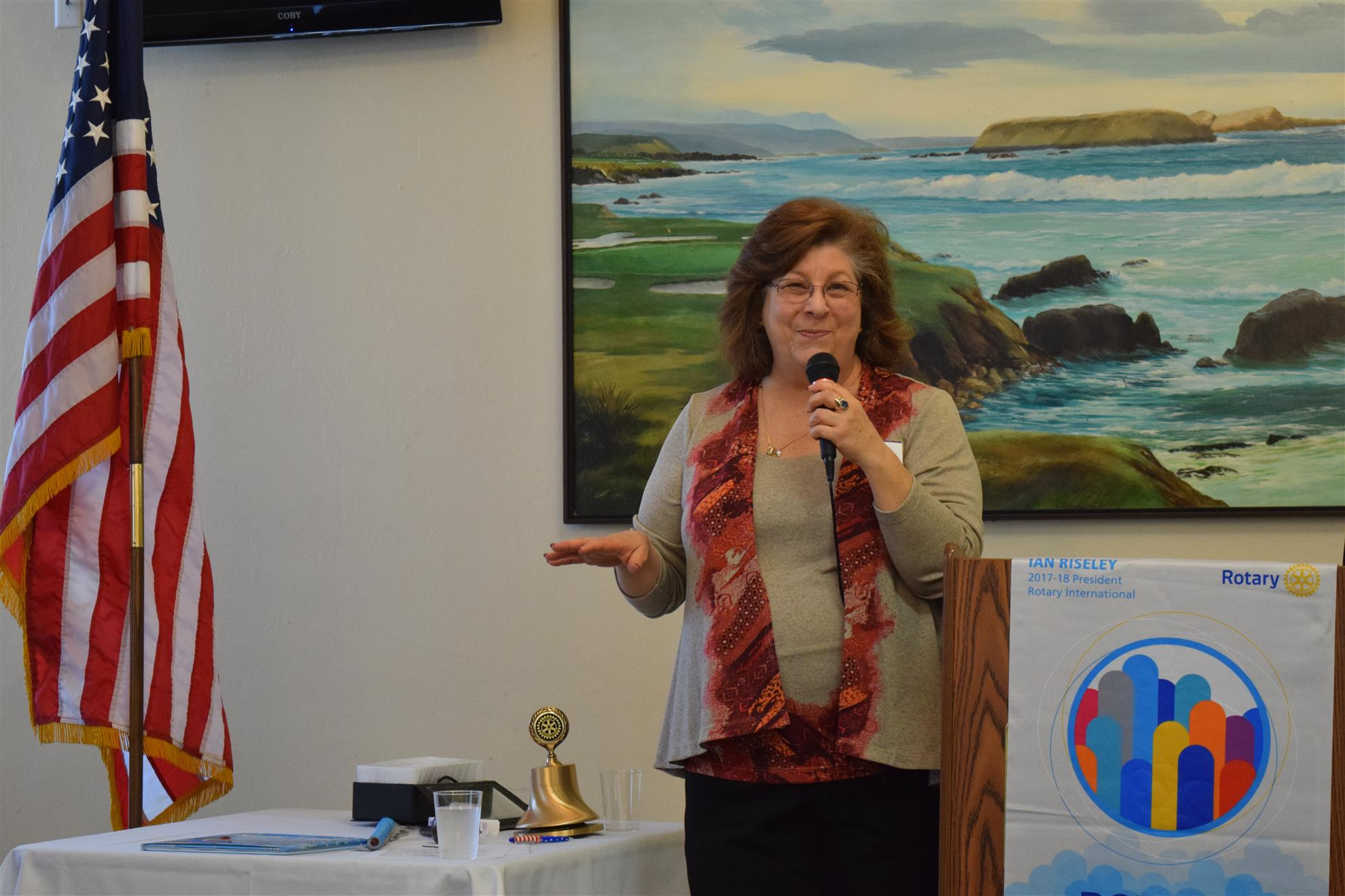 Karen Russell speaks about conflict resolution in the workplace