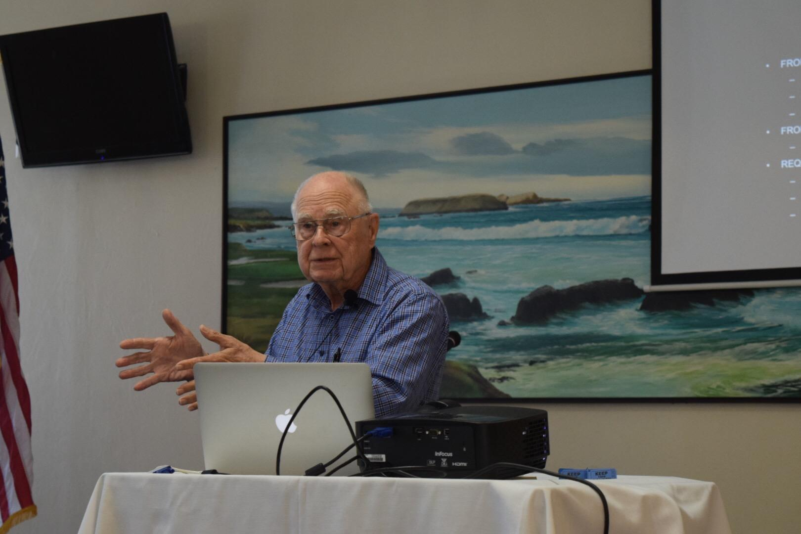 NASA Ames employee Bill Borucki talks about the results of the Kepler mission