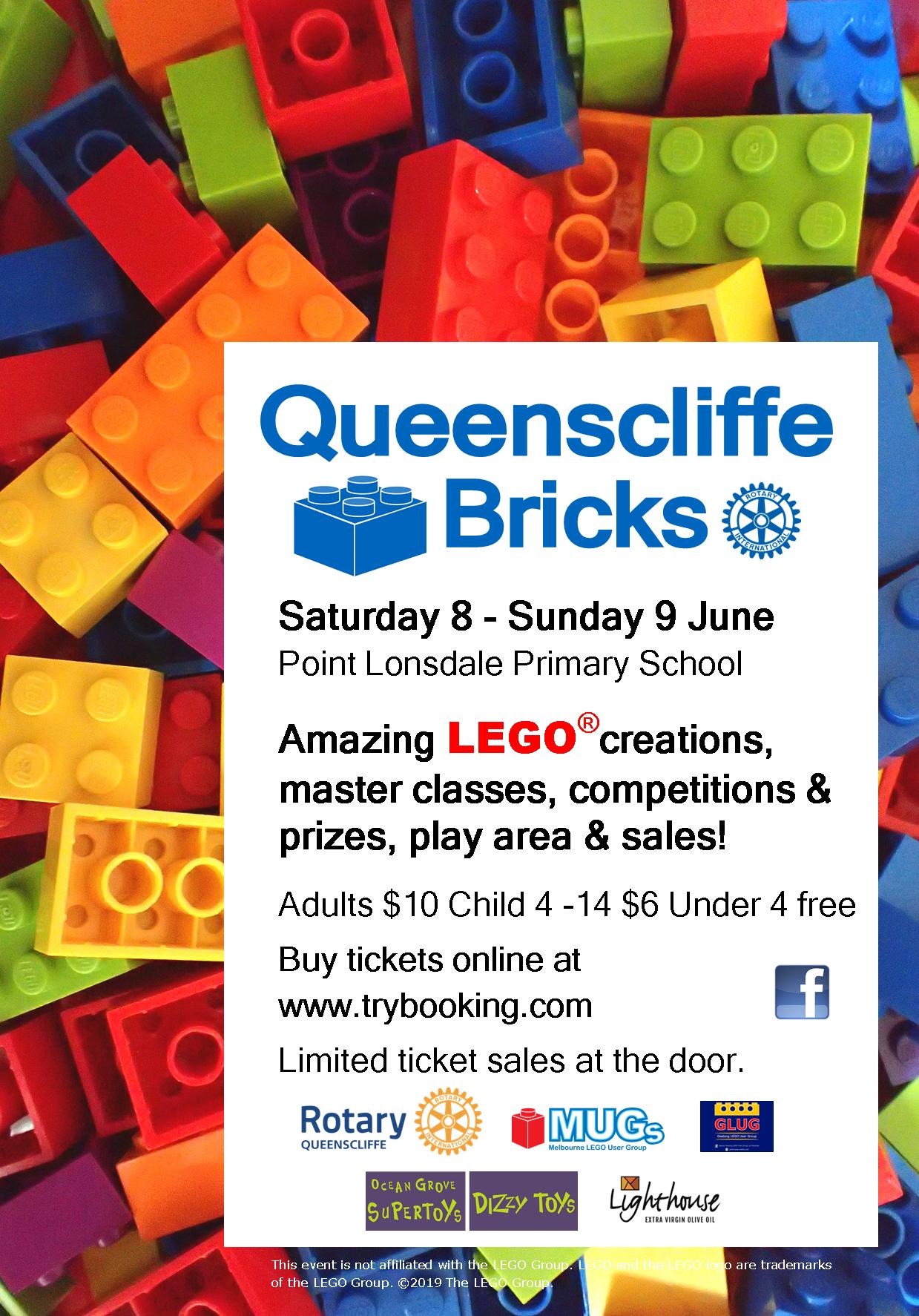 Queenscliffe Bricks 2019 - are you a Future LEGO Master