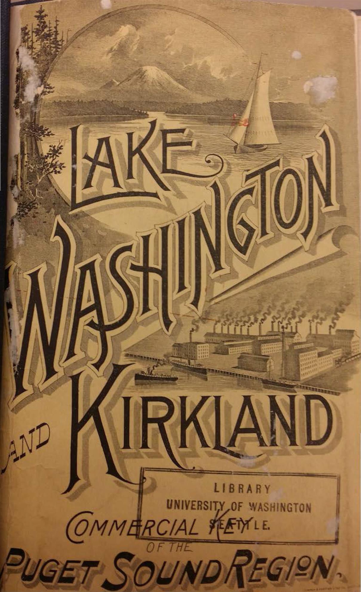 1891 Lake Washington and Kirkland Pamphlet