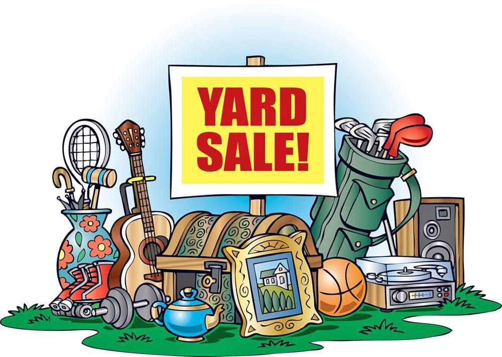 Yard Sale for Scholarship Fund CANCELED