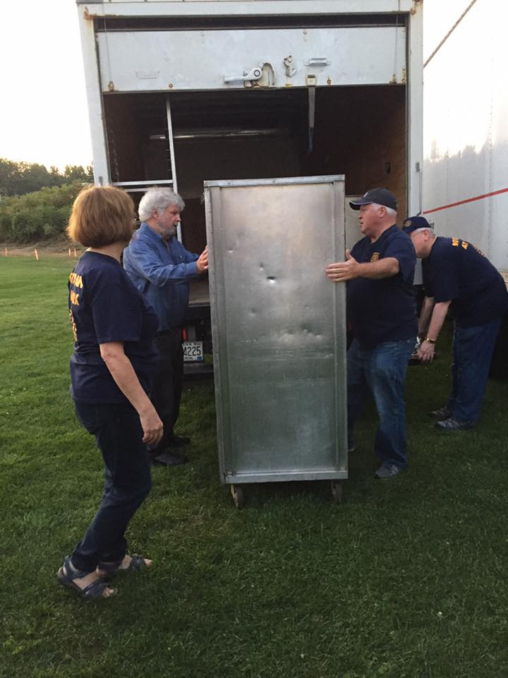 Returning the hot boxes
