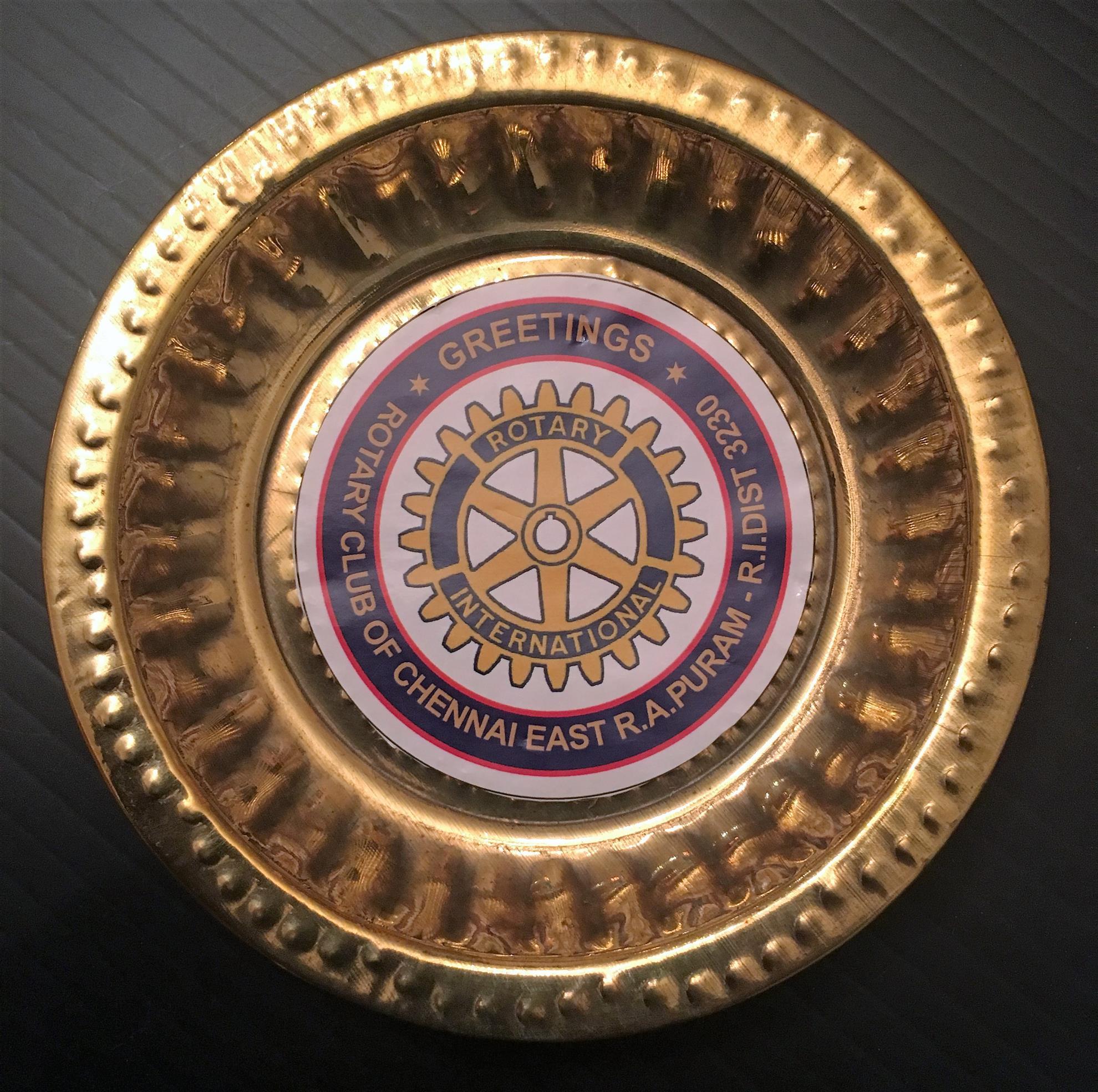 2017 05 04 Memento from Chennai, India