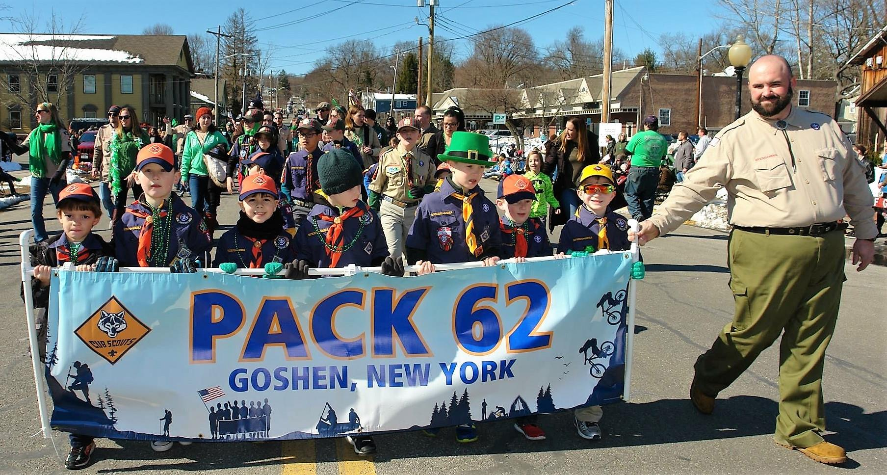 March 11, 2018...St. Patrick's Day Parade