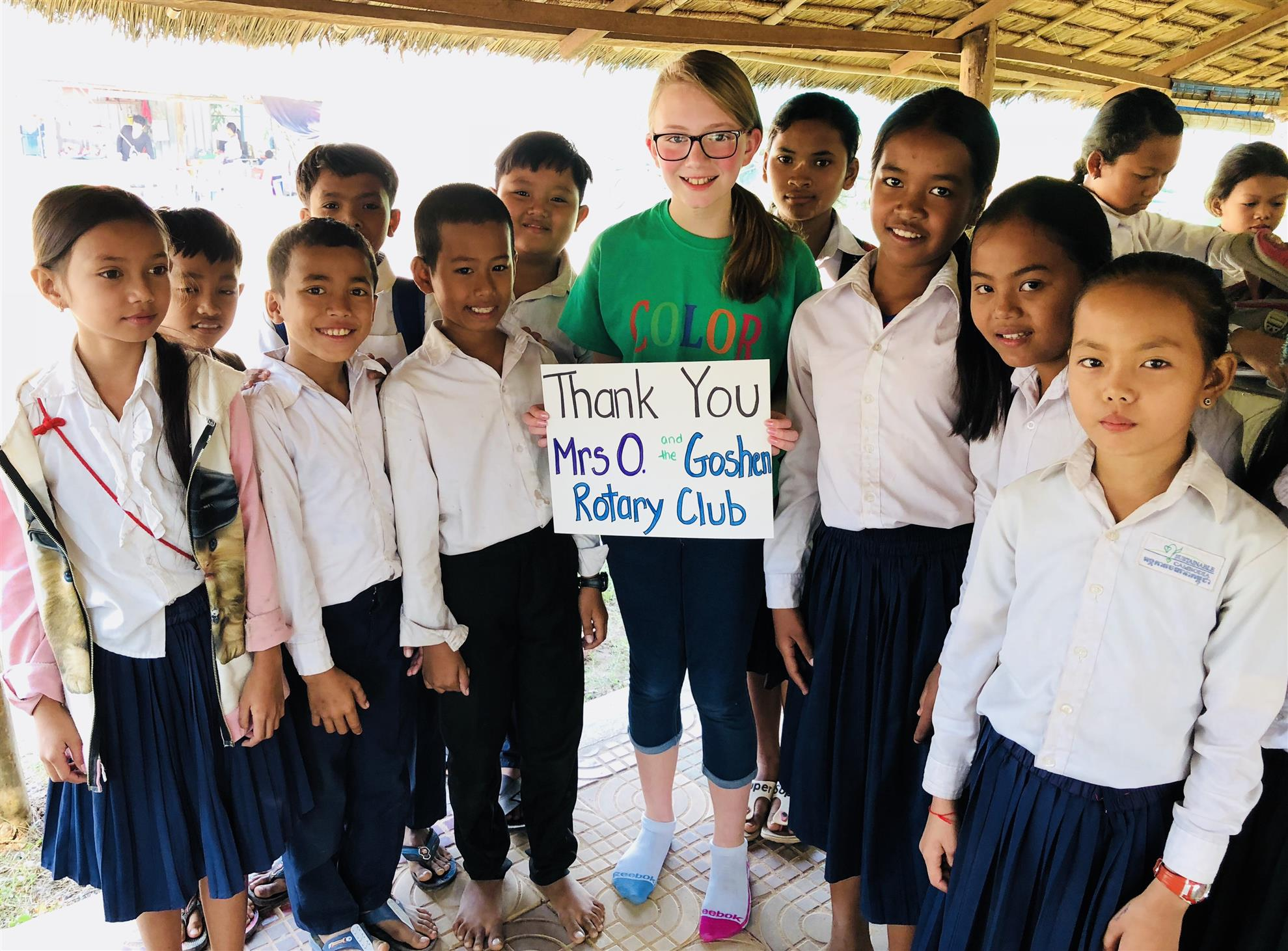 Color for Kids - Bethany in Cambodia