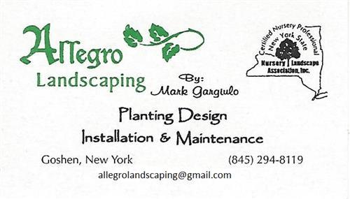 Allegro Landscaping