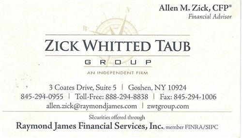 Zick Whitted Taub Group