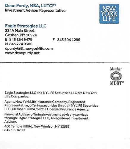 Eagle Strategies LLC - New York Life