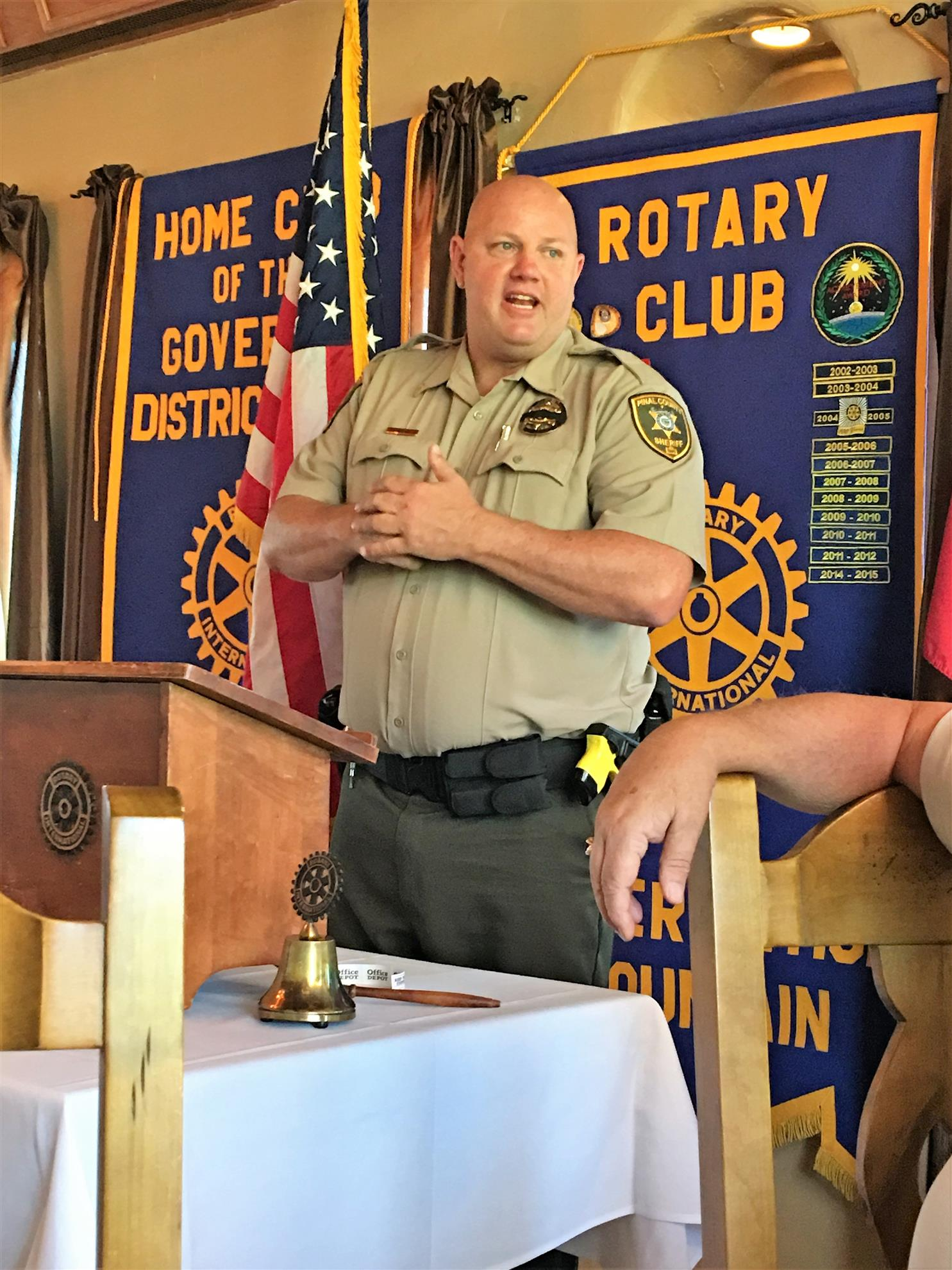 SPEAKER | Rotary Club of Superstition Mountain