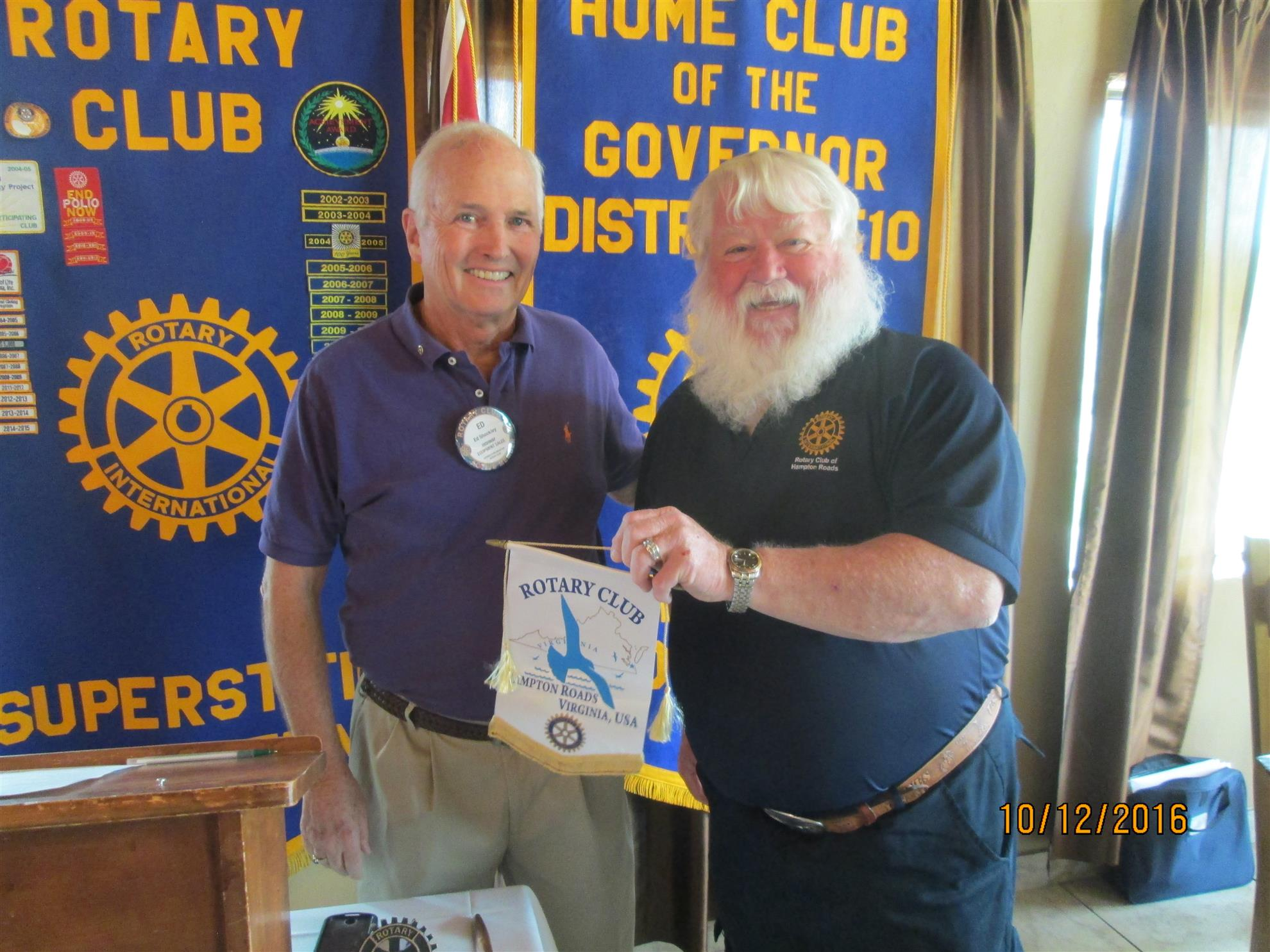 ANNOUNCEMENTS AND CLUB BUSINESS | Rotary Club of Superstition Mountain