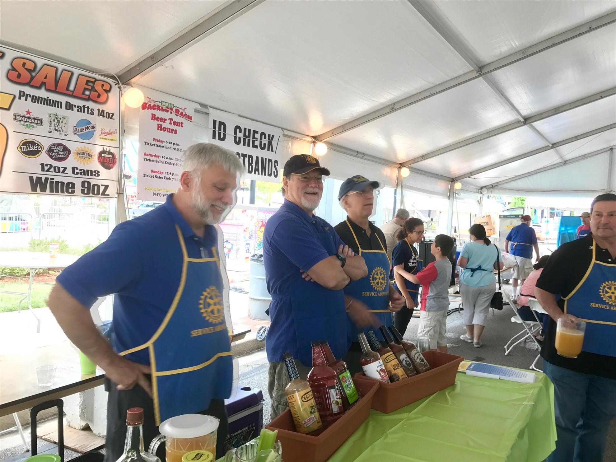 Bloody Mary Makers Crew  sc 1 st  ClubRunner & Home Page | Rotary Club of Skokie Valley