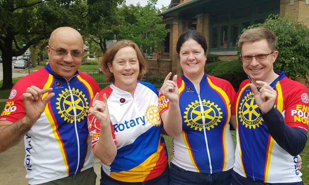 2018 Ride to End Polio Team