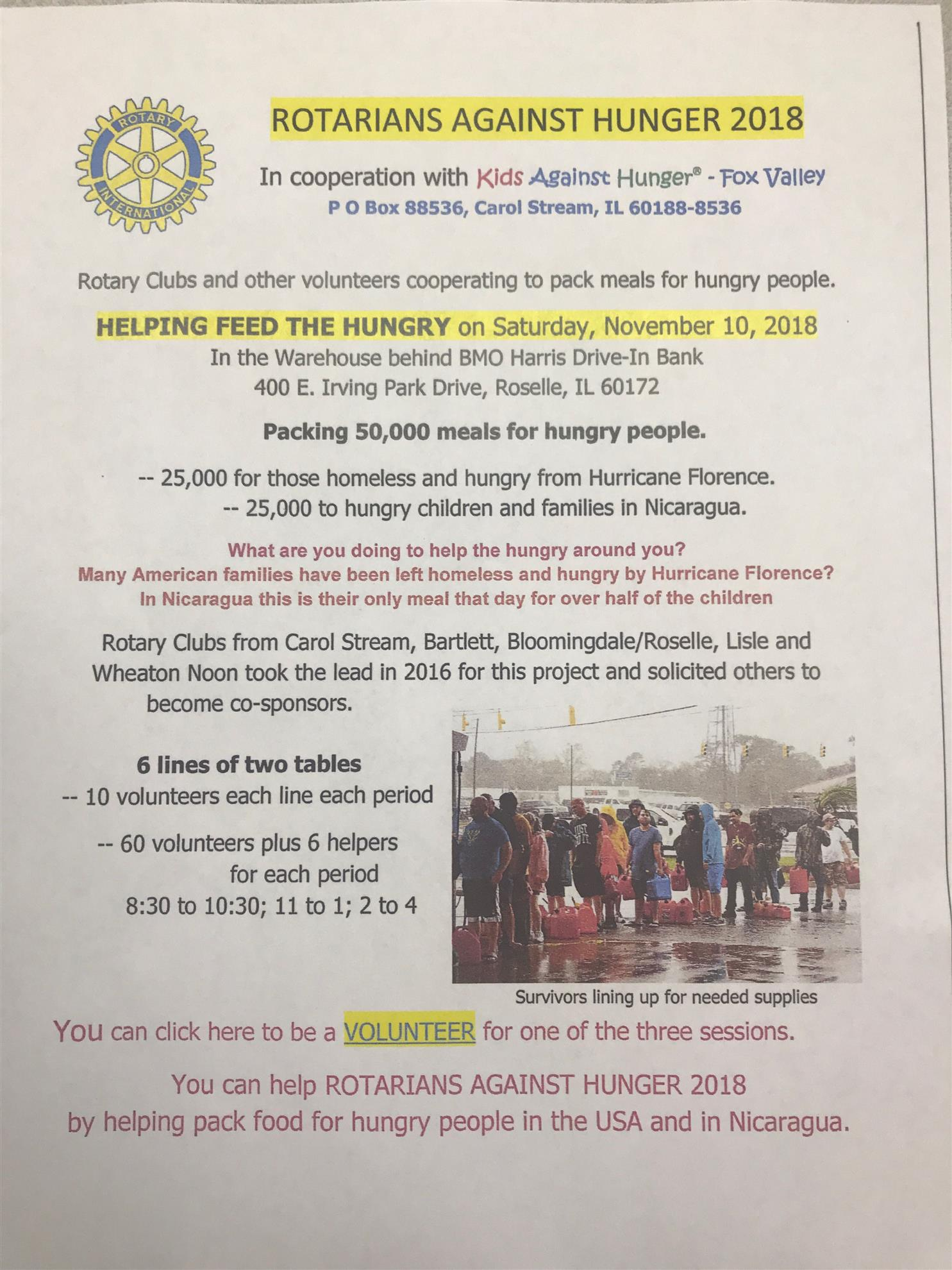 Home Page   Rotary Club of Bloomingdale-Roselle