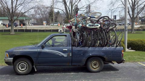 2011-Working Bikes Truck