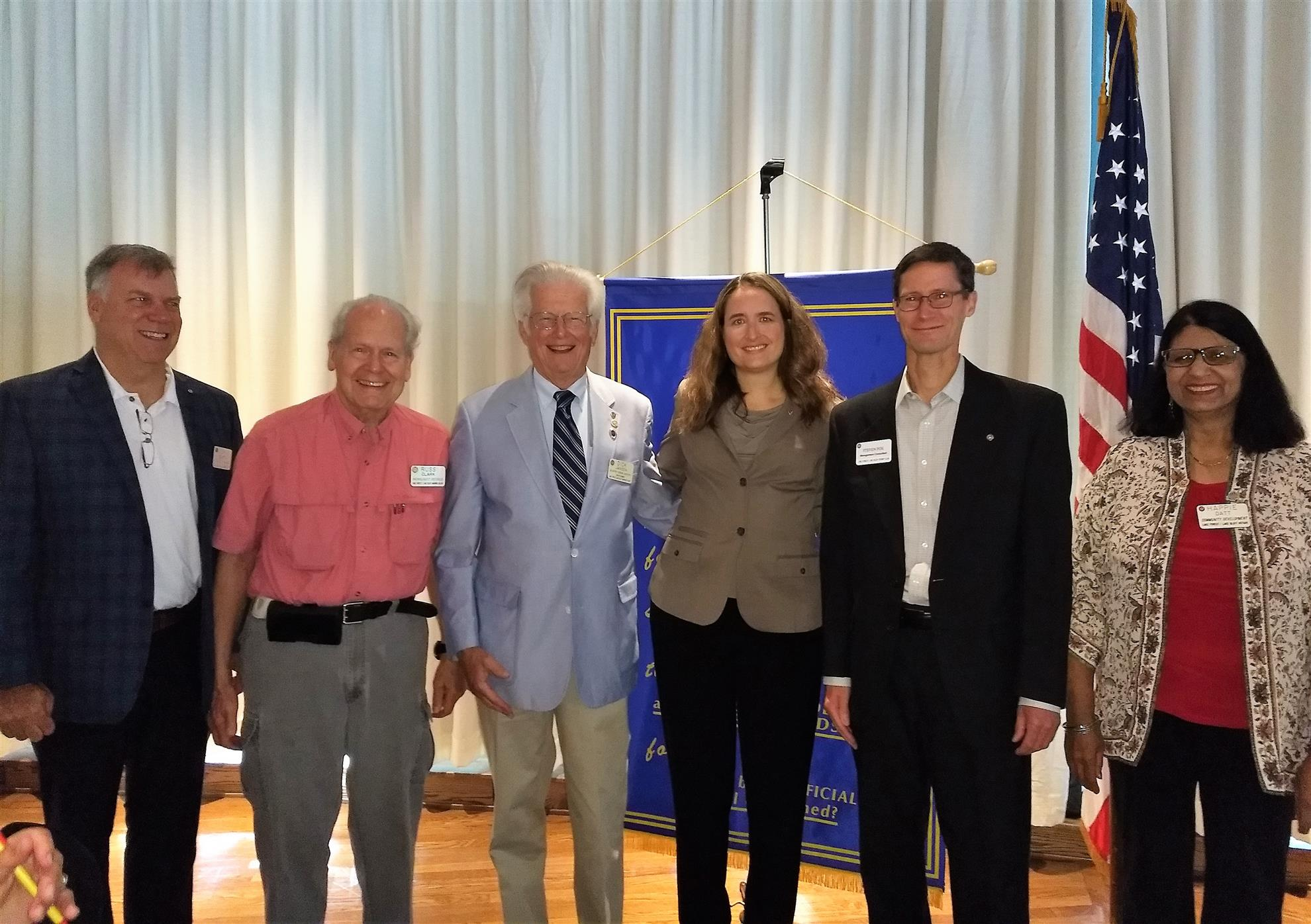 Welcome New Members! | Rotary Club of Lake Forest-Lake Bluff