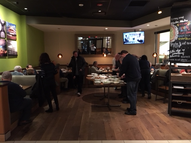 Fireside at California Pizza Kitchen | Rotary Club of Northbrook