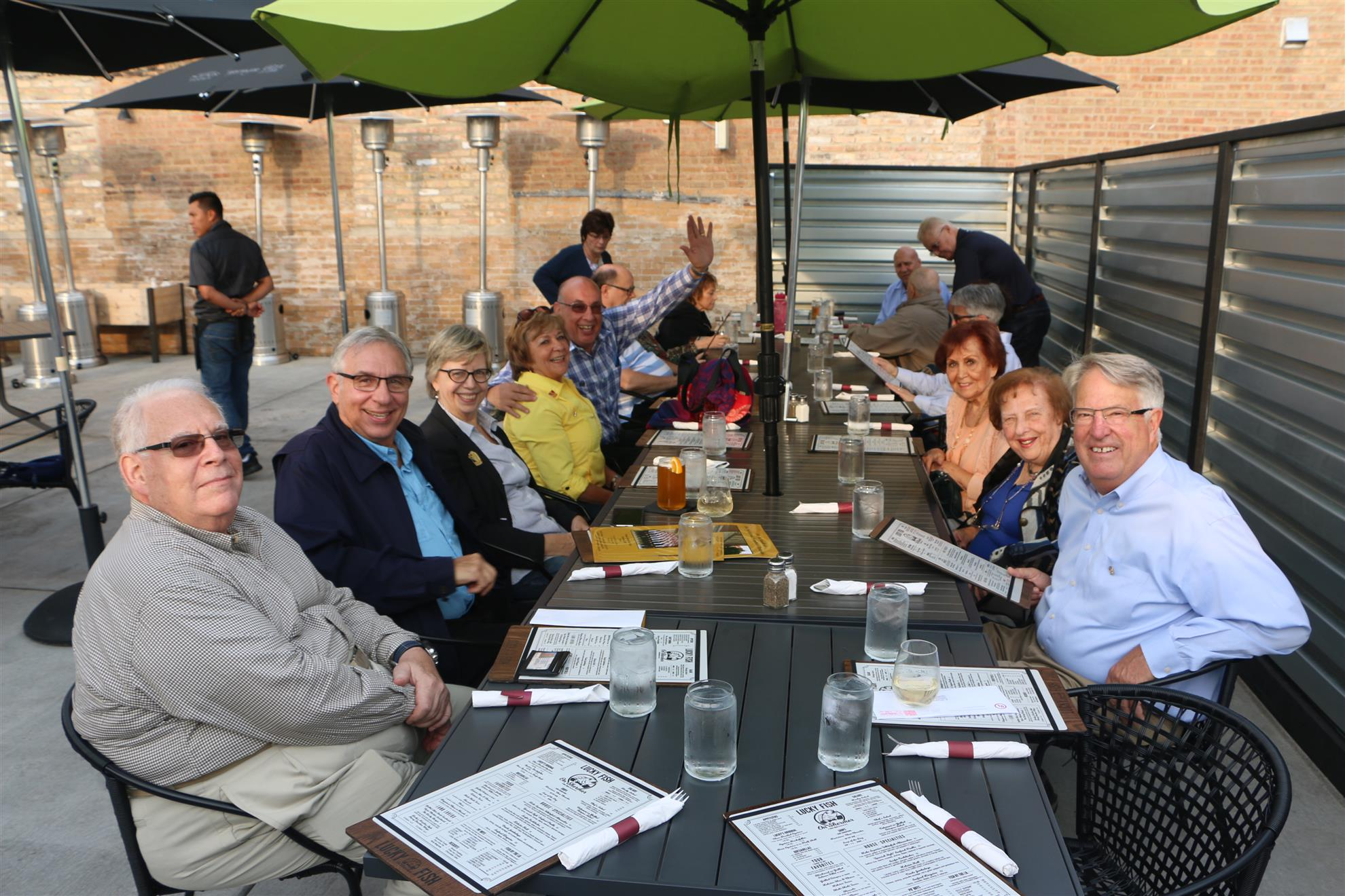 Stories rotary club of northbrook for Lucky fish northbrook