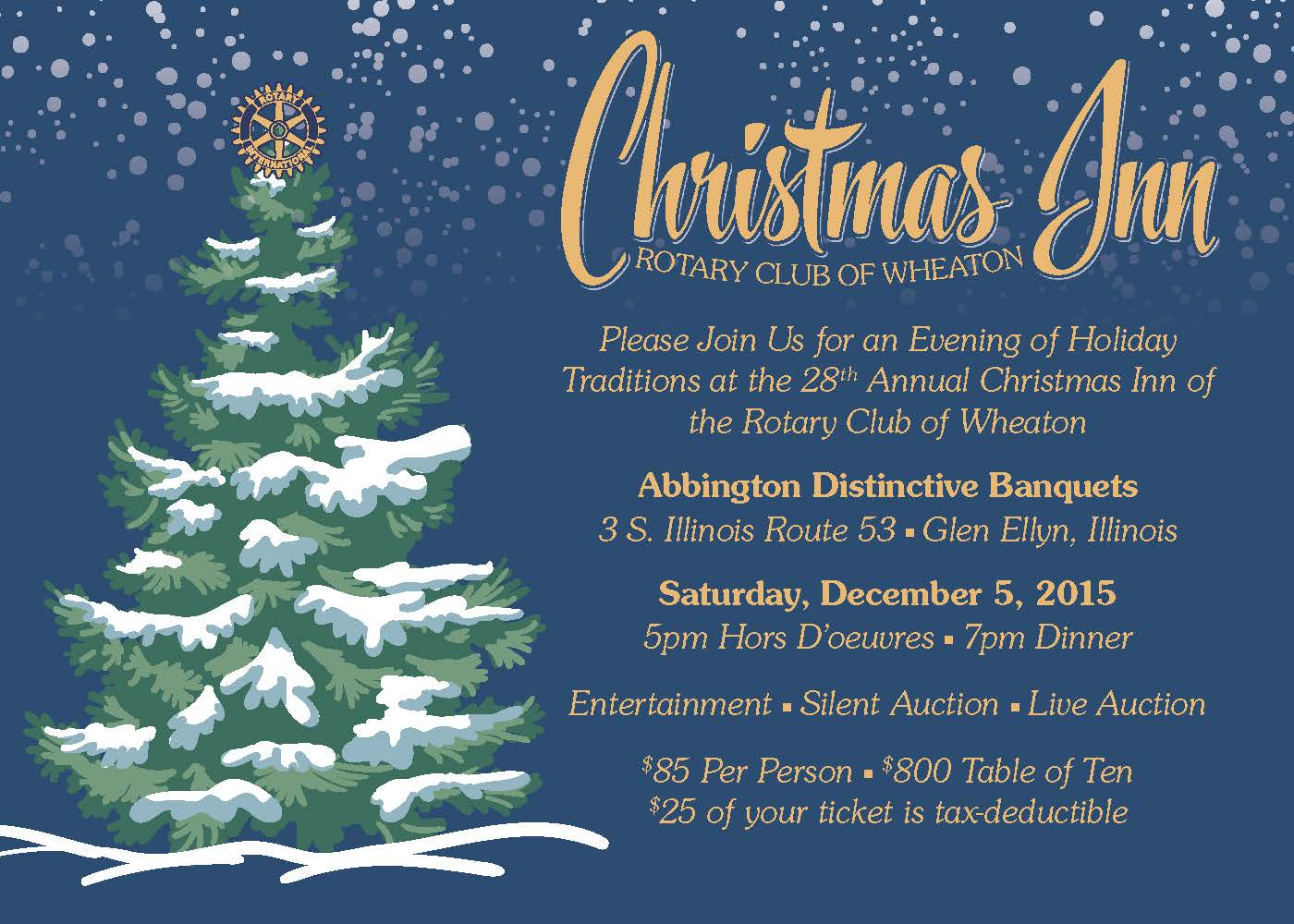 Christmas Inn | Rotary Club of Wheaton