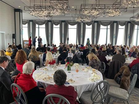 Members and guests at the 2019 Holiday Party