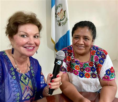 Heidi Kuhn in Guatemala
