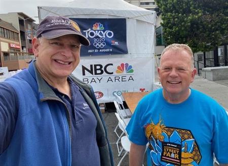 Bob Hermann and Dan Joraanstad